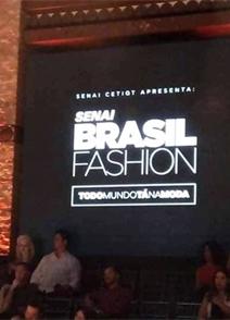 Senai Brasil Fashion 2018